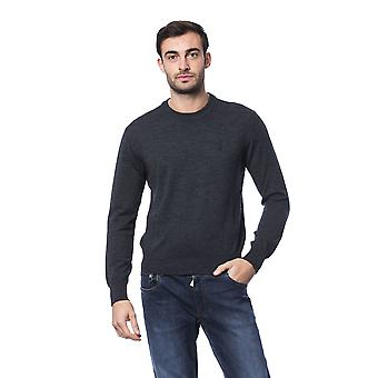 Milliardaire italien Couture Gri Sc Dk Grey Sweater -- BI81403504