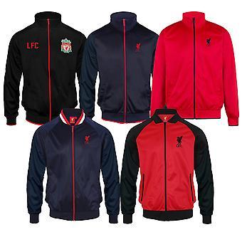 Liverpool FC Officiel Football Gift Mens Retro Track Top Jacket