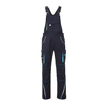 James og Nicholson Unisex Workwear bukser med Bib nivå 2