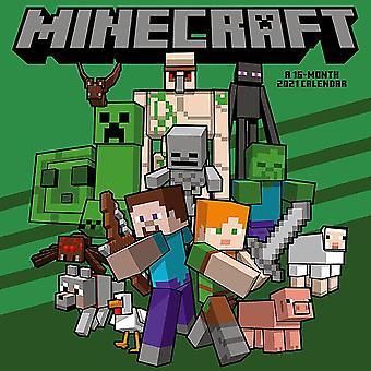 Minecraft Calendar 2021 Official Calendar 2021, 12 months, original English version.