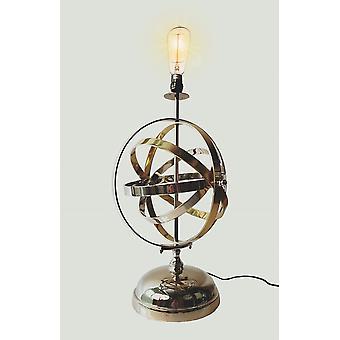Armillary Sphere Aluminum Table Lamp
