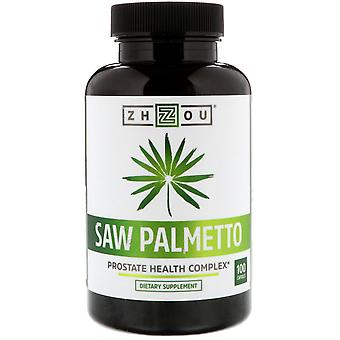 Zhou Nutrition, Saw Palmetto, Prostate Health Complex, 100 Capsules