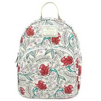 Loungefly X Little Mermaid Ariel Print Mini Backpack