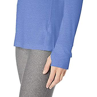 Essentials Dame's Studio Langermet Lett T-skjorte, -lyseblå, Medium