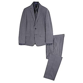 Sean John Boys-apos; Big 4-Piece Formal Suit Set, Noir, 18