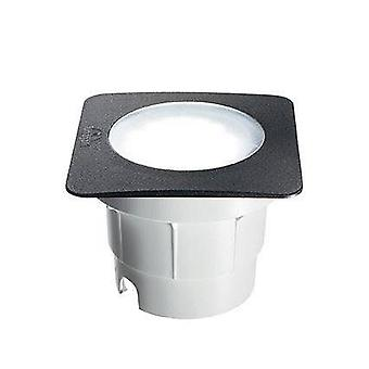 LED 1 Light Large Square Outdoor Recessed Light Black IP67
