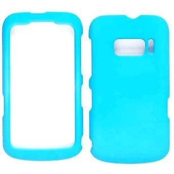 Cas de Snap-On cellulaire illimité pour Alcatel One Touch 918 - Fluorescent Solid Li