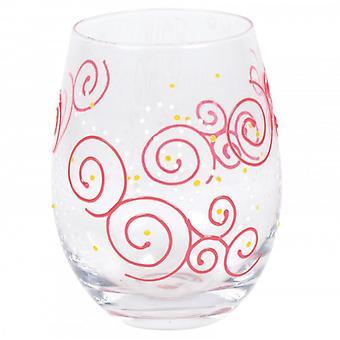Swirls Tumbler Glass