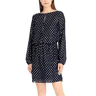 American Living | Metallic Dot-Print Dress