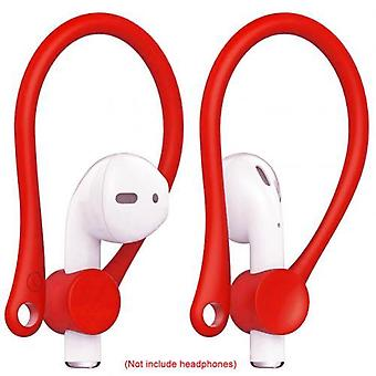 2pcs Mini Fone de ouvido Bluetooth Anti-queda Earhooks Earphone Holder para air-pods 12