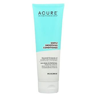Acure Simply Smoothing Conditioner, 8 Oz