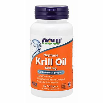 Now Foods Neptune Krill Oil, 500 mg, 60 Sgels
