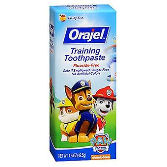 Arm & Hammer Orajel Toddler Toothpaste, Thomas 1.5 oz
