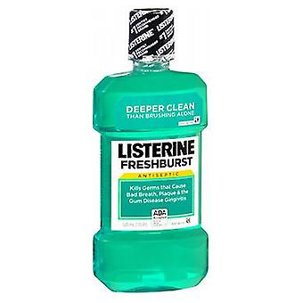 Listerine Antiseptisches Mundwasser, Freshburst 16,66 Unzen