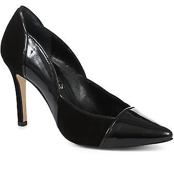 Jones Bootmaker Womens High Heeled Leather Court Shoe