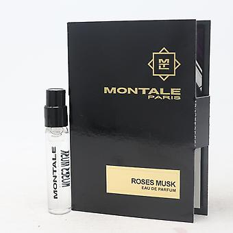 Rose Musk av Montale Paris Eau De Parfum Hetteglass 0.07oz/2ml Spray Ny