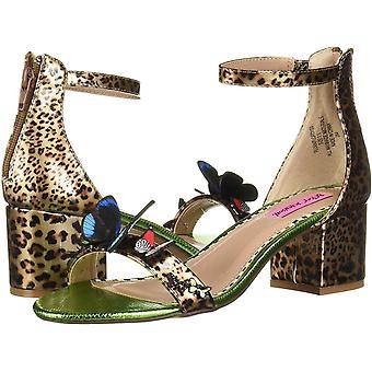 Betsey Johnson naiset ' s Flora korot Sandal