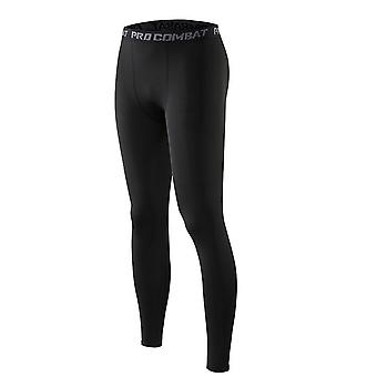 Compression Sports Leggings, Tights Men Elastic Gym Fitness Pants