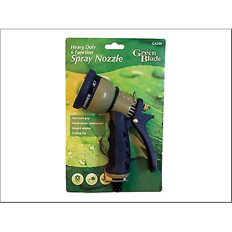 Green Blade Heavy Duty Spray Nozzle 6 Function BB-GA109