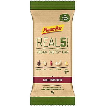 PowerBar Real 5 Vegan Energy Bar Banana hazelnut 18 x 65 gr
