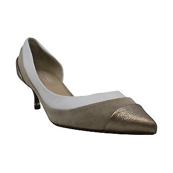 Kenneth Cole Womens Morning Swirl Leather Pointed Toe Classic Pumps