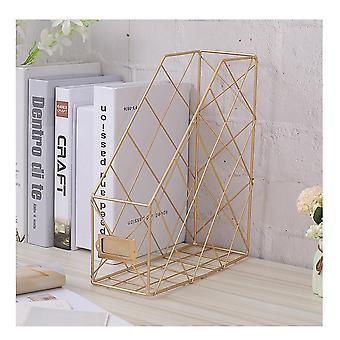 Nordic Style Multi-layer Magazine Rack Iron Stand