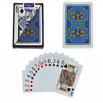100% Pvc New Pattern Plastic Waterproof Adult Playing Cards Game Poker Games