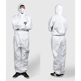 Protective Clothing 1422a Anti-static Overalls Paint Anti-chemical One-piece Hood Dust-free Breathable Clothing White