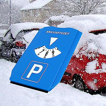 Snow Shovel Time Display/disc Return Time Note Ice Scraper/car Parking Time