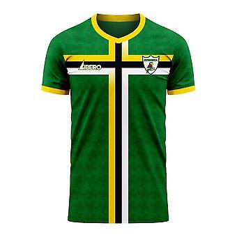 Dominica 2020-2021 Home Concept Football Kit (Libero)