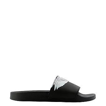 Marcelo Burlon Cmic001r21pla0011001 Men's Black Rubber Sandals