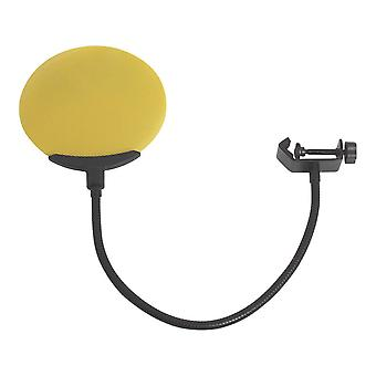 Microphone Blowout Cover Microphone Filtre Microphone Wind Screen Jaune