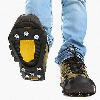 Ice Snow Shoe Spiked Grips Cleats Crampons, Winter Climbing, Camping, Anti Slip