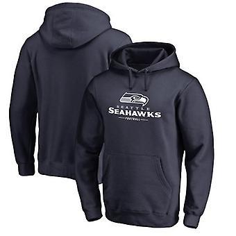 Seattle Seahawks Loose Hooded Sweatshirt Hoodie Tops WYK020