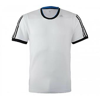 Adidas Performance Clima365 Mens T-Shirt Fitness Training Top White M31155 A9D