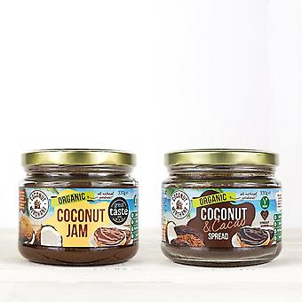 Coconut jam and spread duo pack coconut merchant