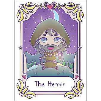 Dödliga Tarot Eremiten Kawaii Affisch