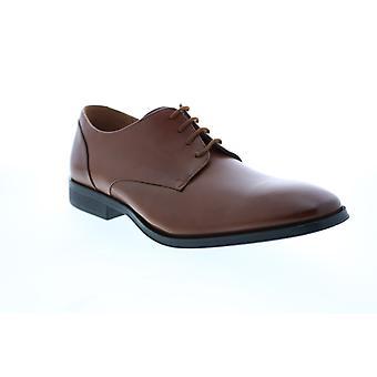 Clarks Gilman Plain Herren Tan Oxfords & Schnürsenkel Plain Toe Schuhe