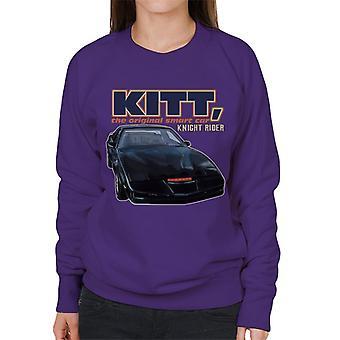 Knight Rider KITT La original smart car women's sudadera