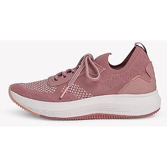 Mauve flache Schuhe