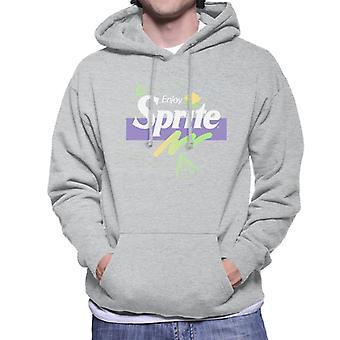Sprite Enjoy Doodle Logo Men's Hooded Sweatshirt