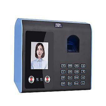Intelligent Attendance Machine, Face, Fingerprint Password Recognition Clock