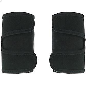 Magnetic Therapy Autoriscaldamento Braccio Gomito Brace Supporto Cintura (1pair As Show)
