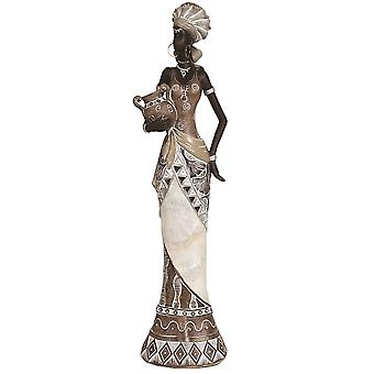 Straits African Lady Standing 39cm Figurine