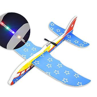 Diy Biplane Glider Schaum Powered Flying Plane wiederaufladbar