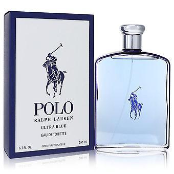 Polo Ultra Blue Eau De Toilette Spray von Ralph Lauren 6,7 Oz Eau De Toilette Spray