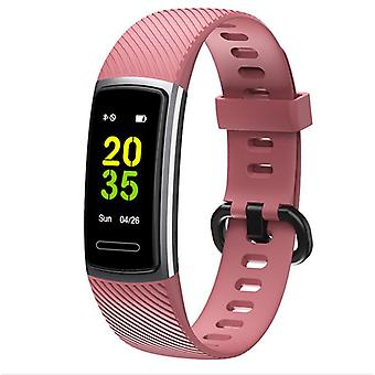 Smart Watch High-End Fitness Tracker HR, Aktivität Tracker Gesundheitsübung Uhr mit Herzfrequenz und Schlafmonitor, Smart Band Kalorienzähler, SchrittZähler, Schrittzähler Walking für Unisex-schwarz