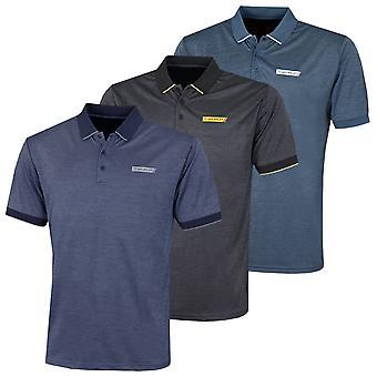 Stuburt Golf Mens 2021 Crawley Breathable Moisture Wicking Summer Golf Polo Shirt