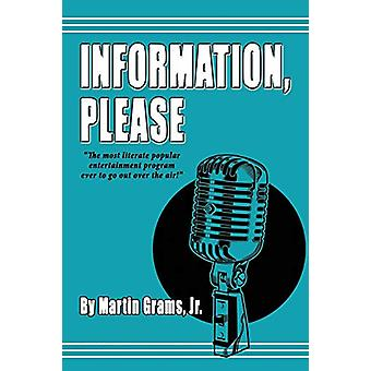 Information Please by Martin Grams - 9780971457072 Book
