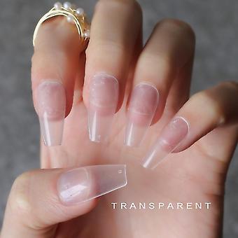 Diy 24 sztuk salonu matowe bordowe fałszywe paznokcie